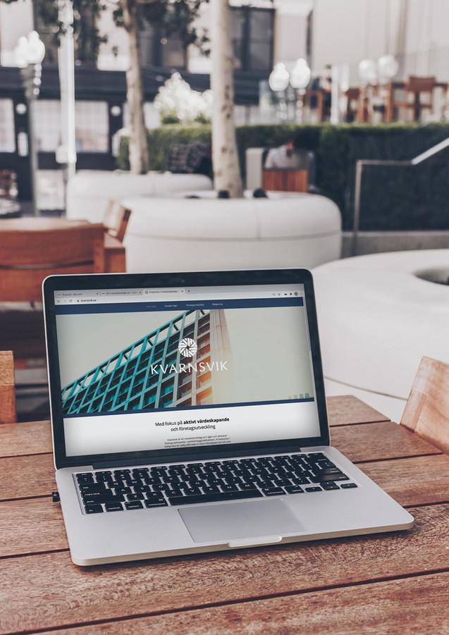 Produktion och design av hemsida