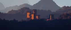 Austmarka_Shelter_sunset