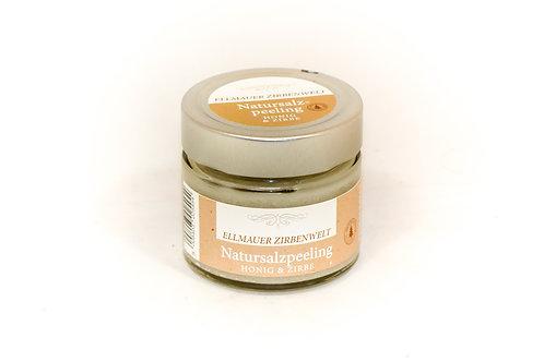 Natursalzpeeling Zirbe und Honig 150g