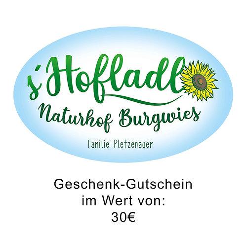 Gutschein Naturhof Burgwies