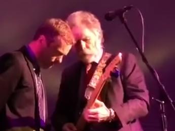 With Bob Weir