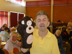 Ian's cheeky monkey!