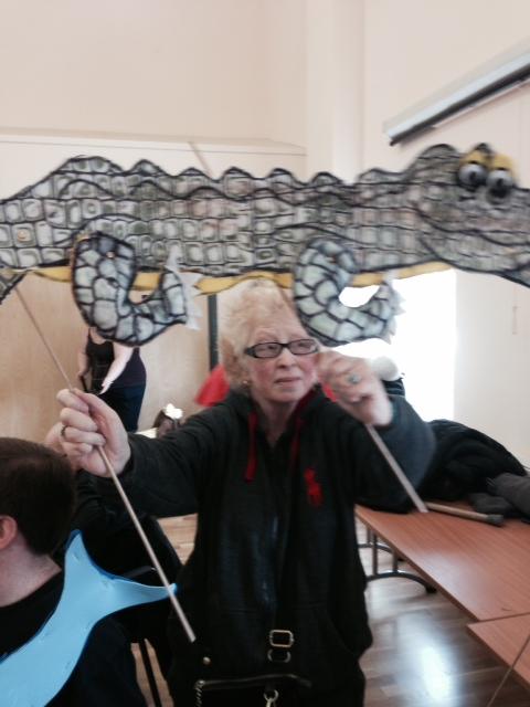 Susan's snappy croc!