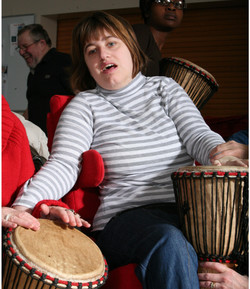 Donna African Drumming