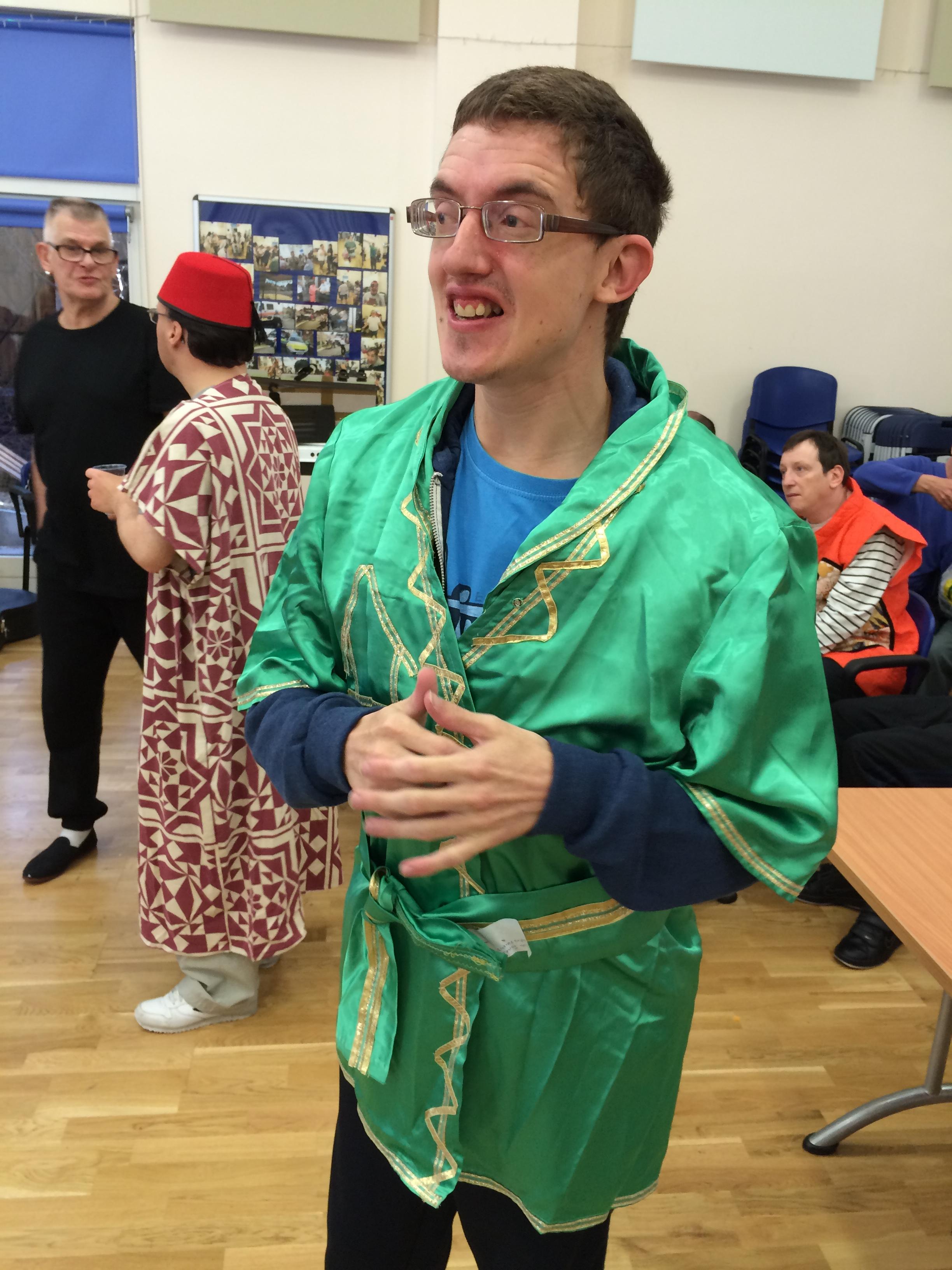 One of Aladdin's friends