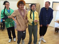 Aladdin and his friends