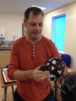 Graham and his tortoise