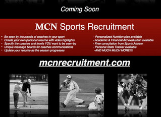 Want to be seen by coaches at all levels of your sport? MCN Recruitment.com is almost here!