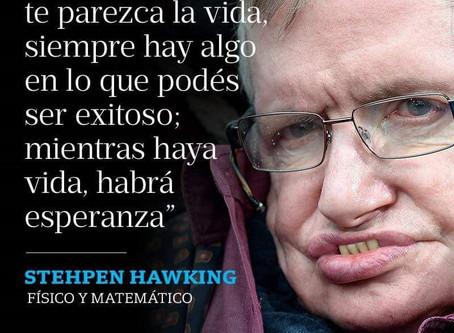 Homenaje a Stephen Hawking: Una apuesta a la vida y a la esperanza