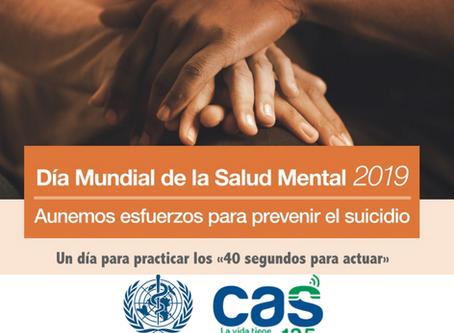 Aunamos esfuerzos para prevenir el suicidio