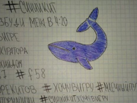 """La ballena azul: Un """"juego"""" que puede terminar en suicidio"""
