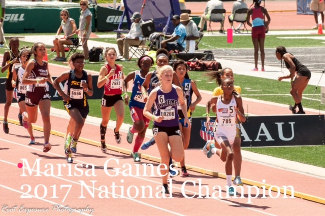 2017 AAU NATIONALS HIGHLIGHTED BY NATIONAL CHAMPION MARISA GAINES