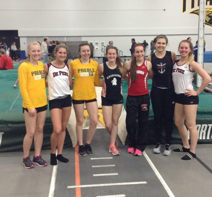 AP Vaulters representing their respective schools