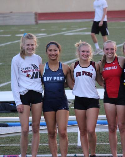 AP Vaulters during High School Track Seasons