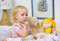 cuello y garganta en niños