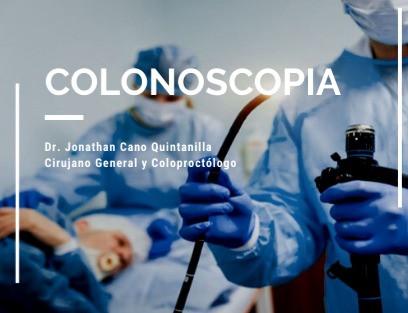 Colonoscopia diagnóstica y terapéutica