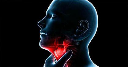 dolor de laringe