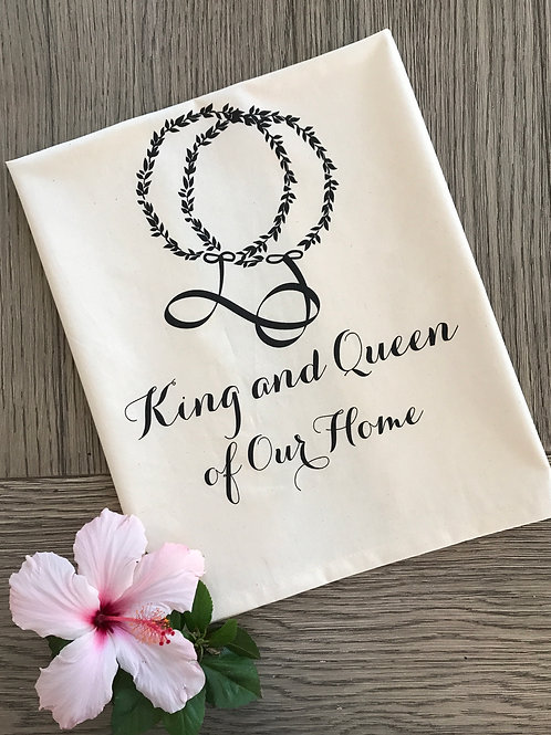 King & Queen of Our Home Kitchen Towel