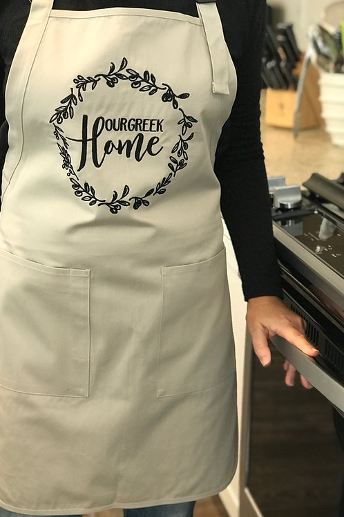 Our Greek Home Apron