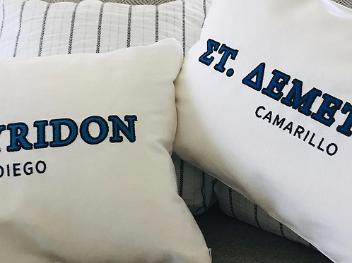 Greek Orthodox Church Pillows