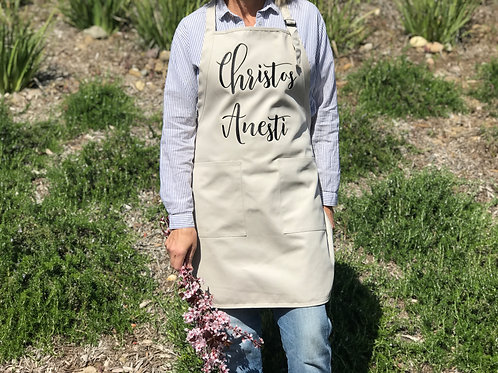Christos Anesti Apron, Greek Easter Apron