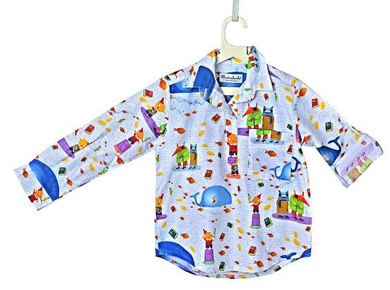 Camicia tre bottoni - Pinocchio