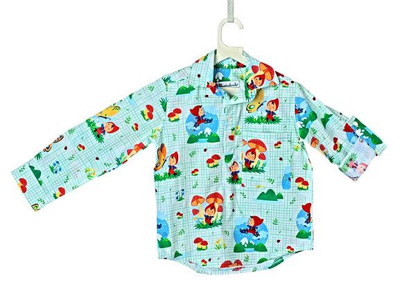 Camicia tre bottoni - Pollicino