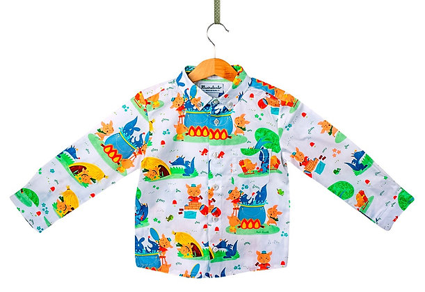 Camicia button down - I tre porcellini