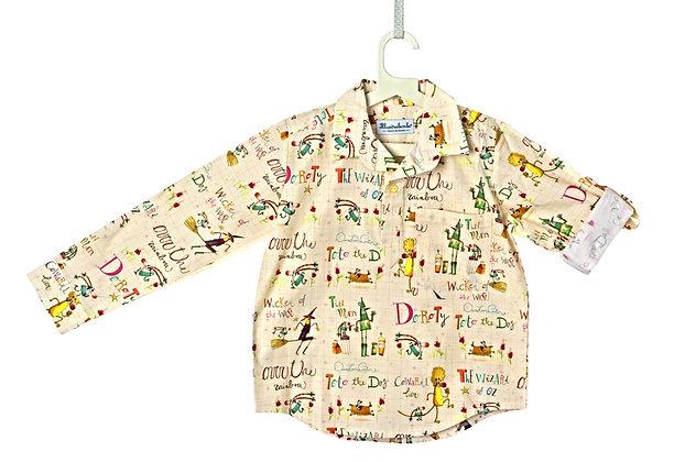 Camicia tre bottoni - Mago di Oz