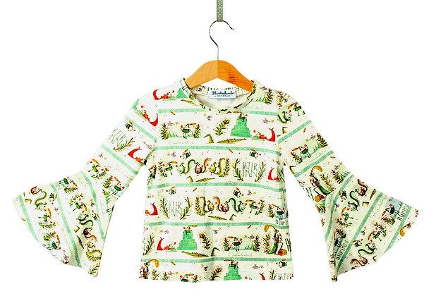 Maglietta maniche a zampa - Peter Pan