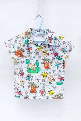 Maglietta mezza manica bimbo