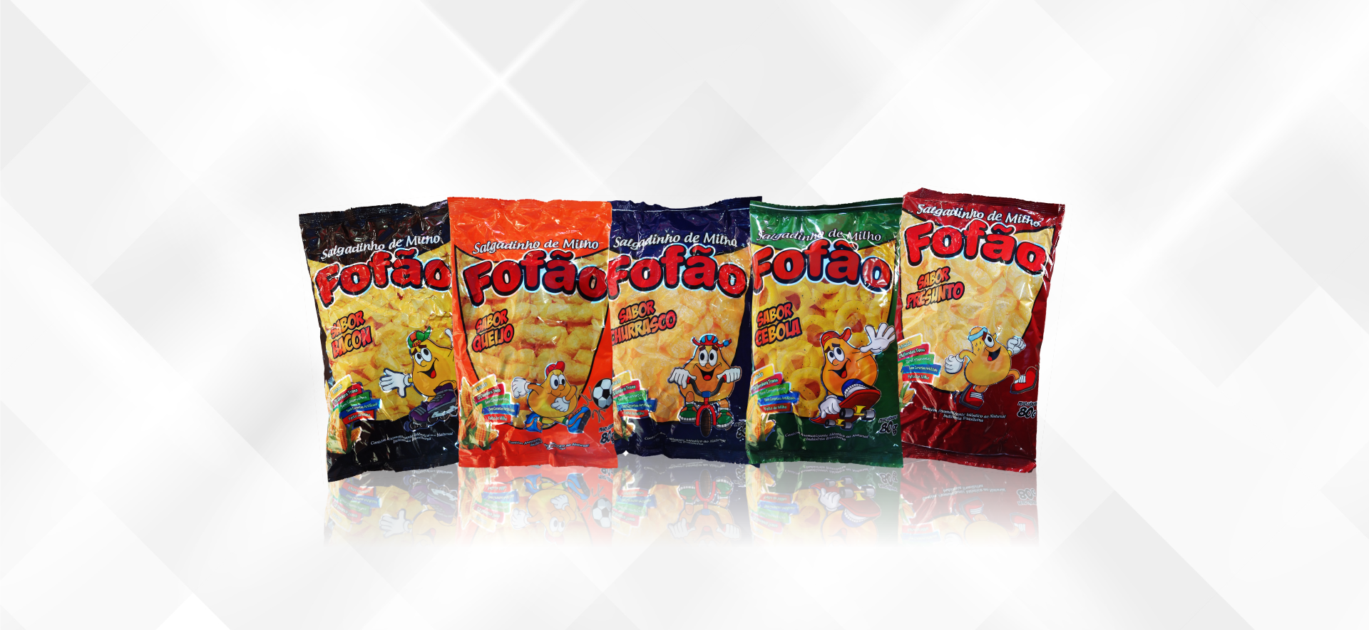 Good Snacks Banner Fofão