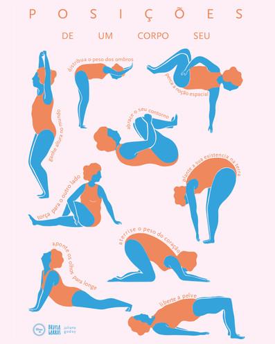 Posições De Um Corpo Seu