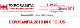 🇮🇹 Exposanità 18| 21 aprile 2018 • Bologna