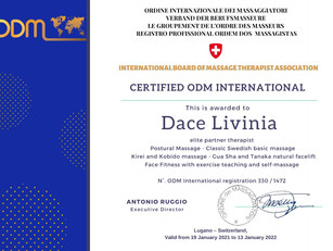 Certifications 2021, Dace Lavinia's professional profile and curriculum Vitae 🇱🇻