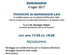 """04 Luglio 2017 Città Sant'Angelo  (PE) """"Introduzione al massaggio """"Digi-presso fasciale"""