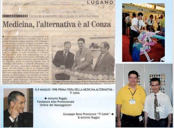 07. 1998 la prima edizione di TI SANA, G