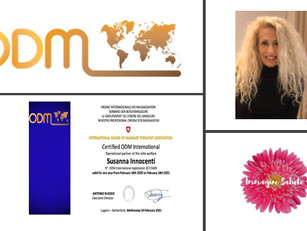 Professional profiles ODM International 2021:  Susanna Innocenti Partner Operator Wellness Palau🇮🇹
