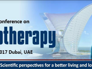 27/29, 2017 Dubai UEA: 5° International conference on Physioterapy