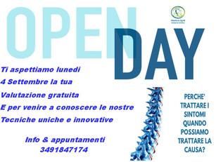 🇮🇹 Open day promo salute -  Pescara, 04 settembre 2017