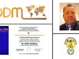Professional profiles ODM International 2021:         Dr. Silvio Siciliano, Cagliari 🇮🇹