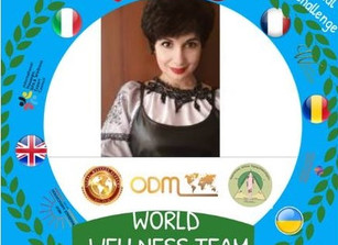 Who is with me!? !! Join the World Wellness Team we will support Wellness-challenge in Ukraine !!