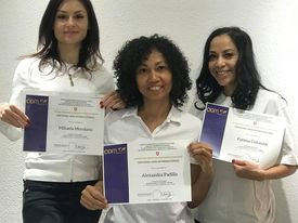 Delivery of certificates International Board of Massage Therapist Association 2020
