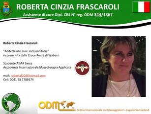 Membri ODM International 2017,               🇮🇹 Roberta Cinzia Frascaroli