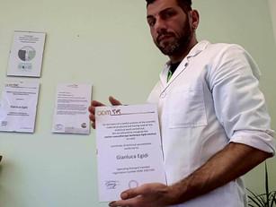 🇨🇭 ODM International accreditation February 2019: Canine massotherapy method Prof. Gianluca Egidi,