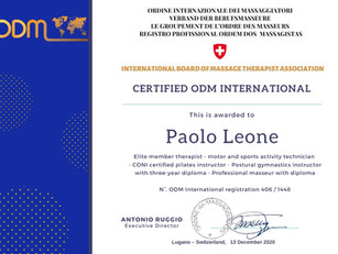 Subscriptions and RenewalsInternational Board of Massage Therapist Association: Paolo Leone