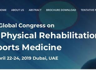 🇦🇪 April 22-24, 2019 Dubai,                            UAE Global Congress on Physiotherapy, Physi