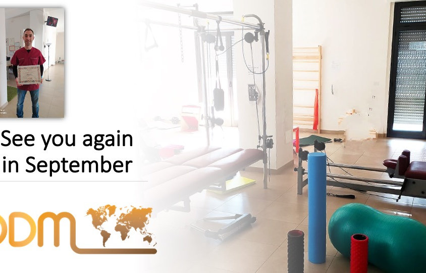 ODM International élite Therapist Partner Paolo Leone See you again in September.jpeg