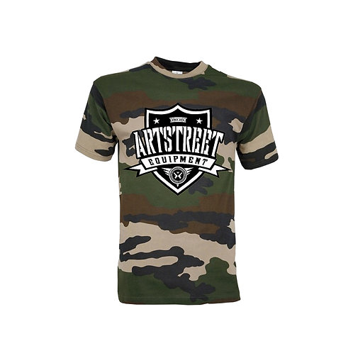 Tee-Shirt : Camouflage Militaire