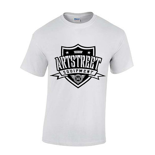 Tee-Shirt : Classique Blanc